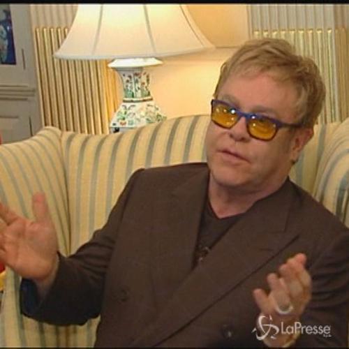 Elton John e John Kerry si incontrano: partnership per la ...