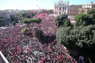 Cgil, un milione in piazza