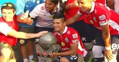 Calcio, il Cile trionfa nei mondiali 2014