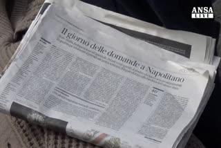 Napolitano teste: mai saputo di accordi