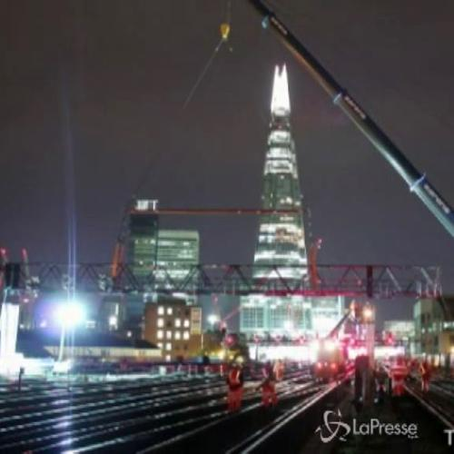 Il miracolo di ingegneria alla London Bridge station