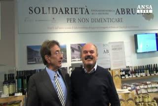 Eataly sostiene l'Abruzzo con l'enogastronomia