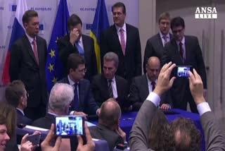 Firmato accordo Kiev-Mosca-Ue,gas 'sicuro' fino a marzo     ...