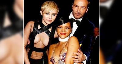 Miley Cyrus batte Rihanna in un'asta di beneficenza