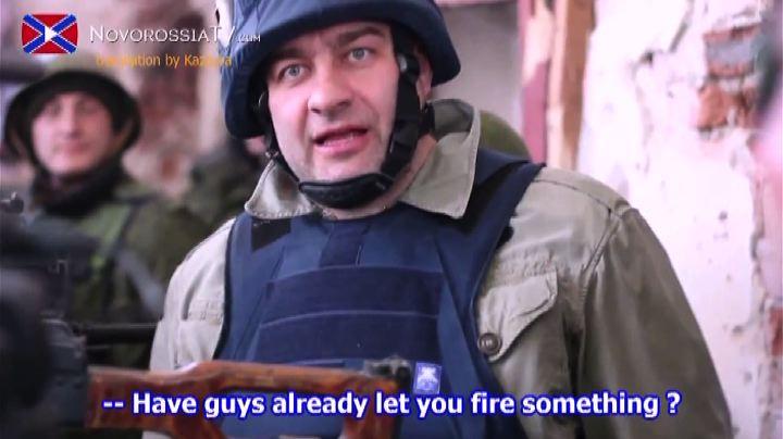 Ucraina, attore russo imbraccia mitra tra i separatisti e ...