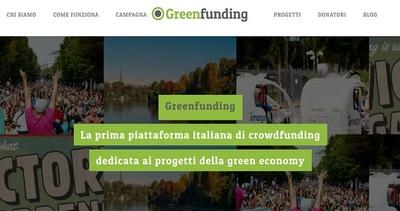 Una piattaforma di crowdfunding green per sostenere ...