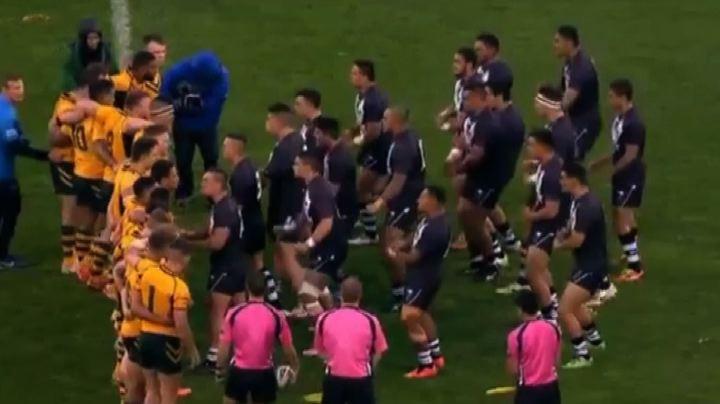 Rugby, Nuova Zelanda- Australia: sfiorata la rissa durante ...