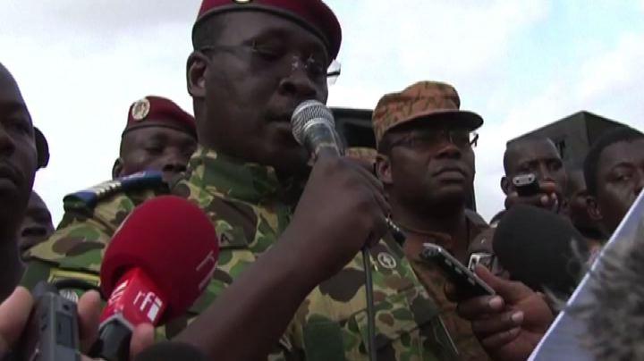 Burkina Faso: al potere Zida, numero due guardia ...