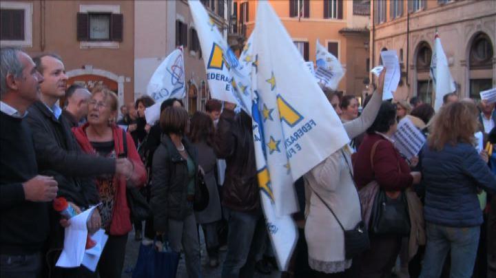 Sit-in lavoratori della Giustizia: serve riscrittura ordinamento