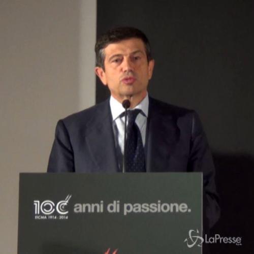Eicma, Lupi: Abbiamo molta eccellenza in Italia, passione diventa impresa