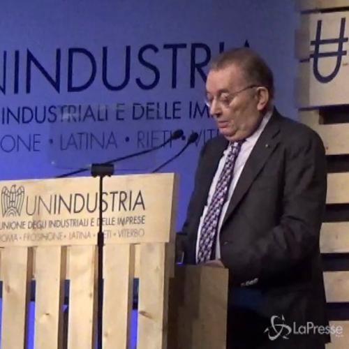 Squinzi: Al voto senza riforma sarebbe danno per l'Italia