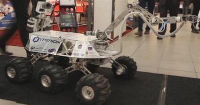 Il robot progettato per andare su Marte offre caramelle     ...