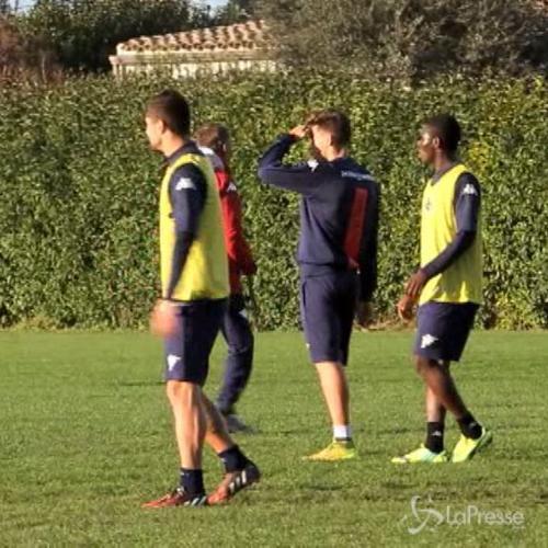 Cagliari, seduta tatticha in vista della gara con il Napoli ...