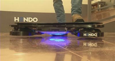Lo skate volante di Ritorno al futuro è realtà