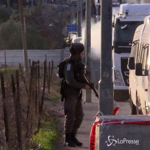 Medioriente, a Gerusalemme scontri polizia-manifestanti a ...