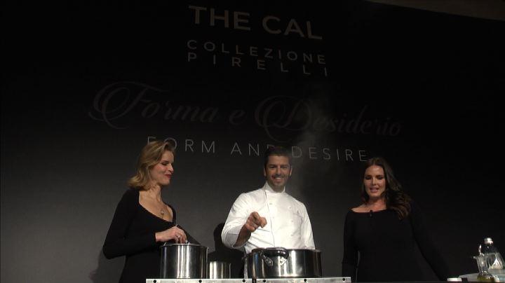Milano, glamour e cucina per festeggiare il calendario ...
