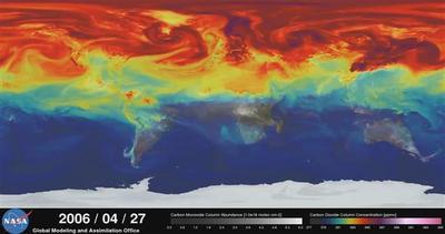 Ecco come cambia l'aria che respiriamo in un anno