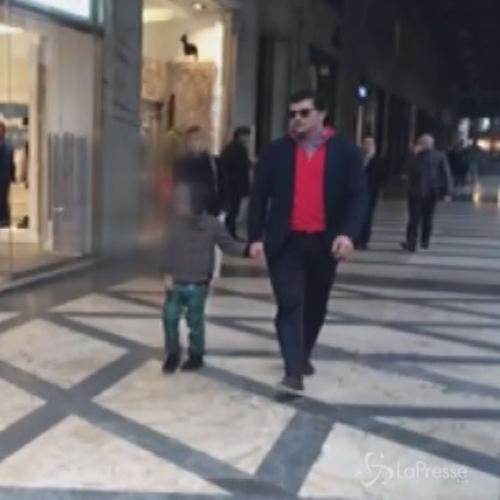 K'akha K'aladze, ex giocatore Milan, a passeggio con il ...