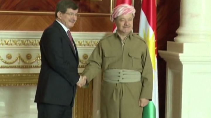 Davutoglu a Baghdad propone all'Iraq aiuto Turchia in lotta ...