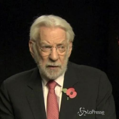 Donald Sutherland: Hunger Games rivoluzionerà gli Usa