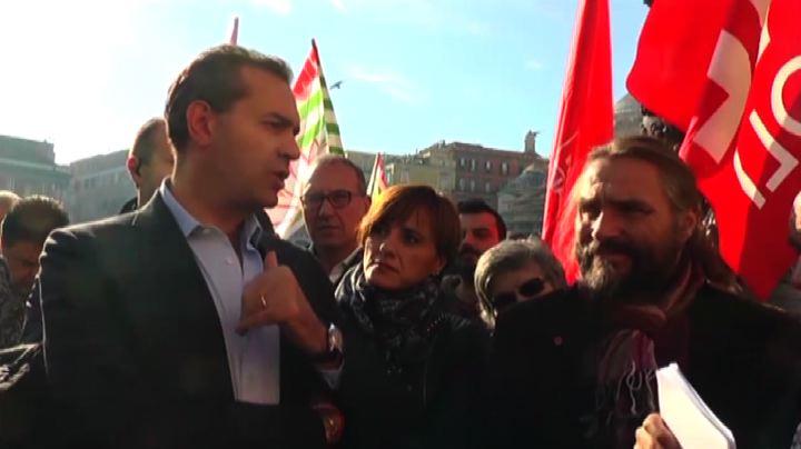 Eternit, presidio a Napoli: governo risarcisca familiari ...