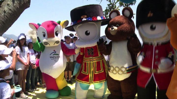 A Rio de Janeiro la reunion delle mascotte olimpiche - Nude ...