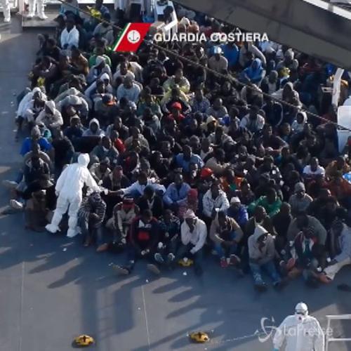 Sbarchi, oltre 500 migranti soccorsi in 48 ore