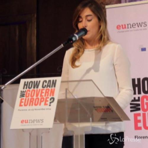 Firenze, Boschi interviene in inglese al convegno sull'Ue   ...