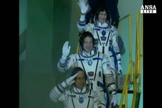 'Sam' e' a bordo, prima astronauta italiana sulla Iss
