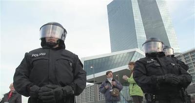 Francoforte assediata contro la BCE