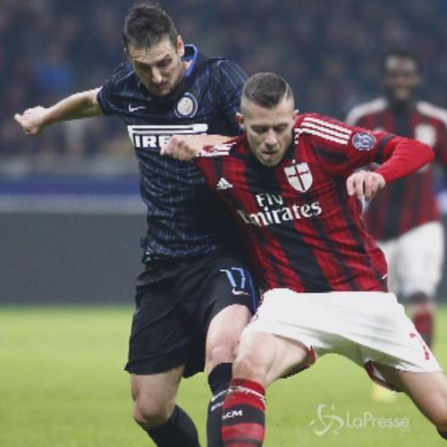 Milan-Inter 1-1: Obi risponde a Menez