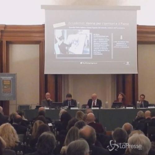 Franceschini alla presentazione del rapporto annuale di ...
