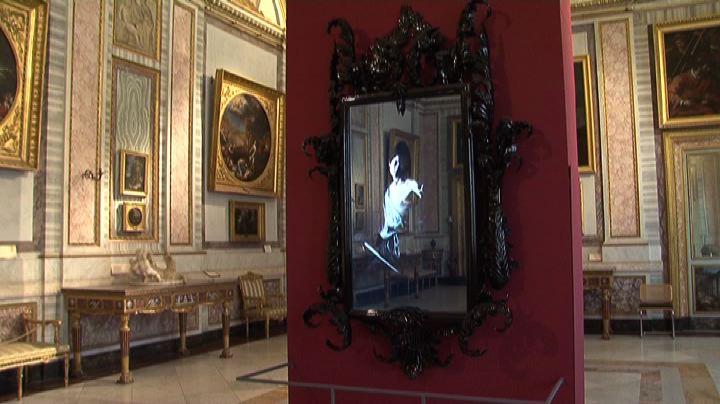 Mat Collishaw interpreta il barocco alla Galleria Borghese ...