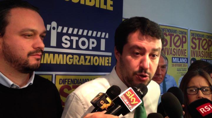 Salvini: pronti a sfidare Renzi, io sono a disposizione     ...