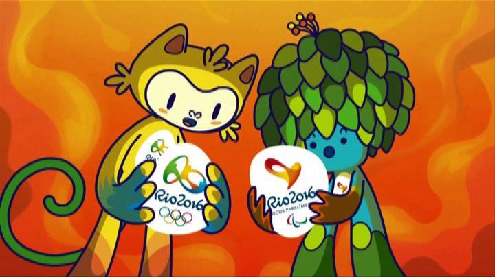 Ecco a voi le mascotte di Rio 2016