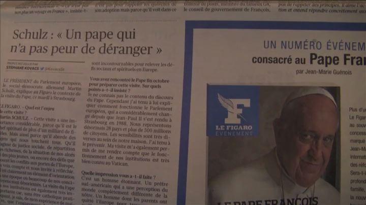 Il Papa a Strasburgo, Le Figaro: messaggio all'Europa senza ...