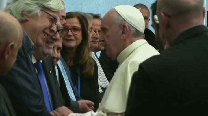Bergoglio al Consiglio d'Europa - Nude News