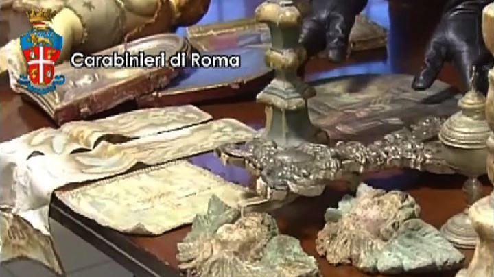 La villa-museo di un avvocato romano con opere d'arte ...