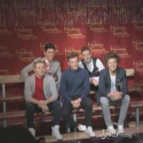 Svelate le statue degli One Direction al Madame Tussauds di ...