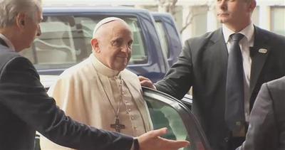 Visita lampo per Papa Francesco a Strasburgo