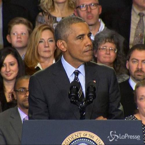 Ferguson, Obama: Dobbiamo affrontare realtà pesanti, sono ...