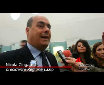"""Zingaretti: """"Raddoppiano nel Lazio le strutture contro la ..."""