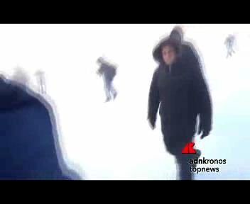 Siberia, aereo bloccato dalla neve: i passeggeri scendono e ...