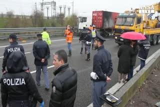 Tentata rapina a portavalori sulla A1, rapinatori in fuga   ...