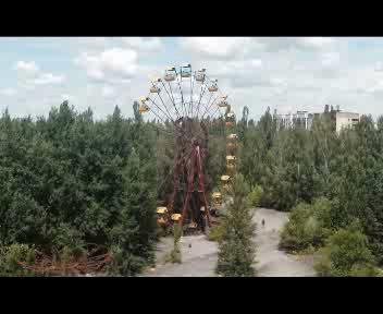 In volo sui resti di Chernobyl