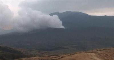 Allarme in Giappone, il vulcano si sveglia