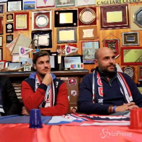 Calcio, presidente del Cagliari Giulini incontra tifoseria ...
