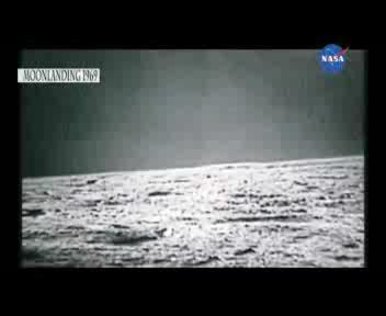 Dalla Nasa lo sbarco sulla Luna in HD
