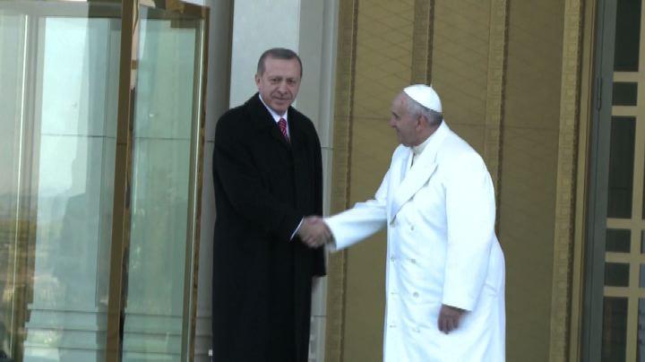 Papa a Erdogan: rispetto dei fondamentali diritti e doveri  ...