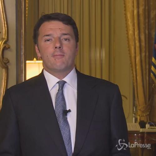 Renzi: Ce la faremo, siamo più forti della paura. Lavoratori eroi di oggi